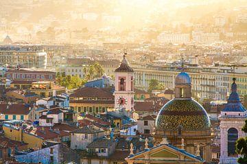 Schitterende stad Nice aan de Côte d'Azur van Rosanne Langenberg