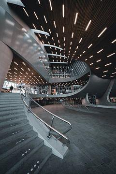 Arnheim Hauptbahnhof Niederlande Architektur von vedar cvetanovic
