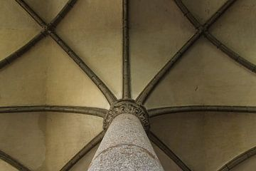 Symmetrische Decke Mont Saint-Michel von