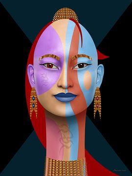 Koningin Van De Kleuren van Ton van Hummel (Alias HUVANTO)