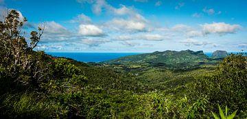 Mauritius, Afrika , Uitzicht van