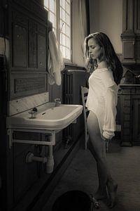 Washing the memories away...