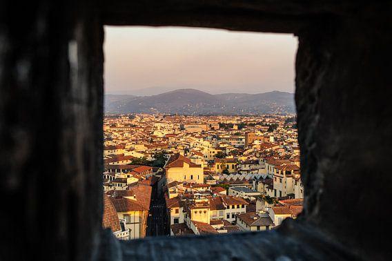 Venster op Firenze van  Frank Lenaerts