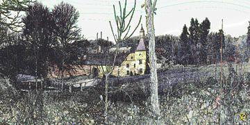 2017 art 15 Ardennen Belgie kloosterkasteel Limont van jan kamps