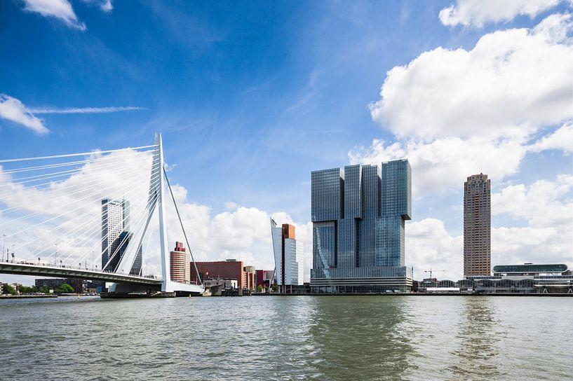 Iconen van Rotterdam van Frenk Volt