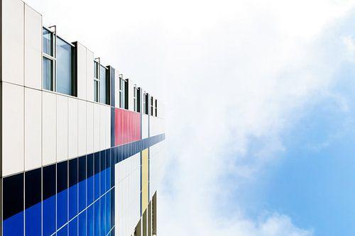 Mondriaan in the sky van Jaap Burggraaf