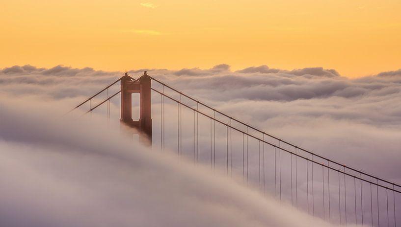 Golden Gate Bridge van Photo Wall Decoration