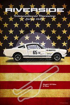 Riverside Shelby Mustang Vintage von Theodor Decker