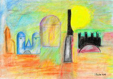 Orient Sonne von Johann Bucher