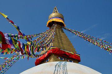 Bouddhanath, Kathmandu, Nepal 2020 van Photos by Aad