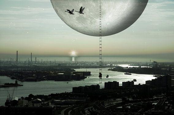 Trip to the moon van Jeannette Penris