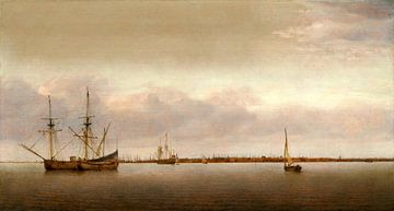 Ansicht von Hoorn, Abraham de Verwer von Liszt Collection