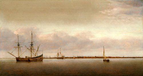 Gezicht op Hoorn, Abraham de Verwer van Liszt Collection