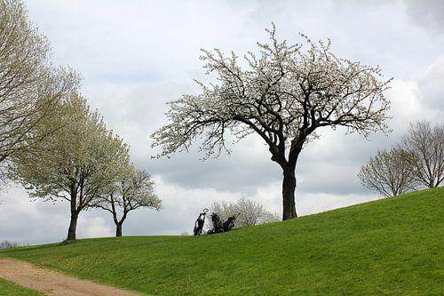 Voorjaar op de golfbaan von Rob Hendriks