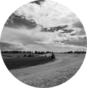 Deich in Ostfriesland van Rolf Pötsch