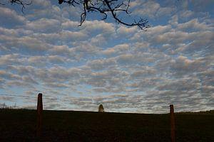 Lucht vol wolken van Susanne Seidel