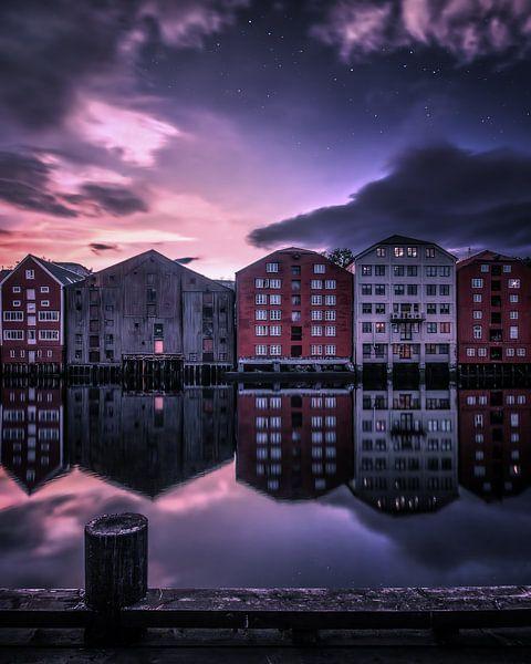 Wooden houses of Trondheim van Niels Tichelaar
