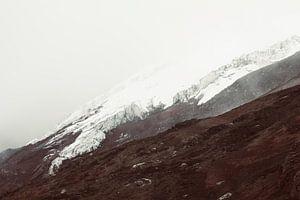 Cotopaxi gletsjer