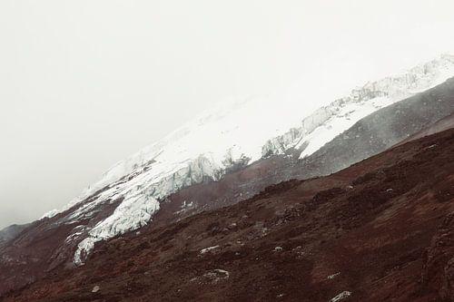 Cotopaxi gletsjer van