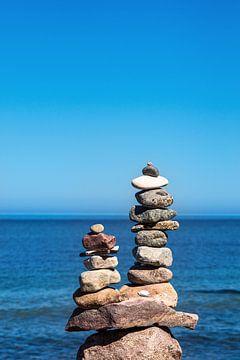Steine an der Küste der Ostsee auf dem Fischland-Darß von Rico Ködder