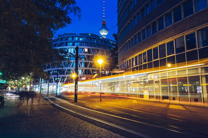 Berlin – Henriette-Herz-Platz van Alexander Voss