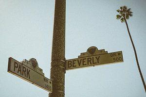 Vintage Beverly Hills, Los Angeles, Kalifornien, Vereinigte Staaten