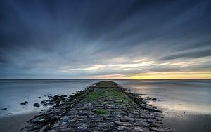 Sunset op de pier