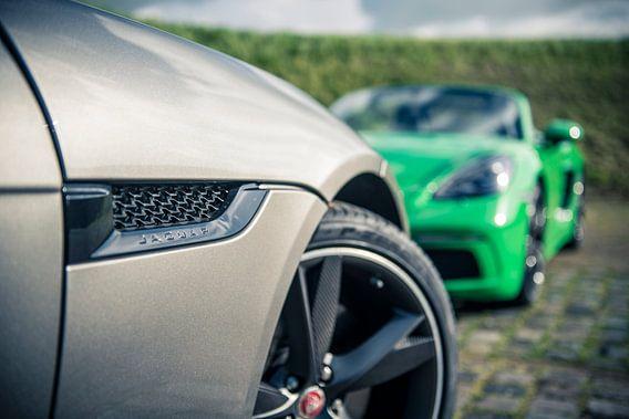 Jaguar F-Type - Porsche Boxster