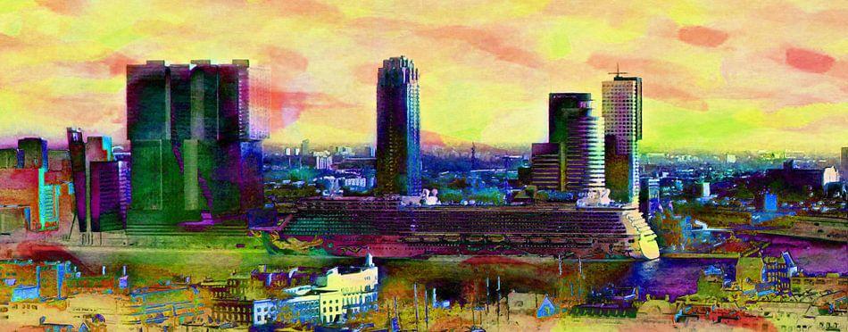 Rotterdam met Cruiseschip Vibrant