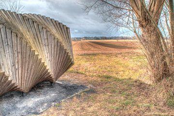 Seitenansicht Helixagon von Joel Houbrigts