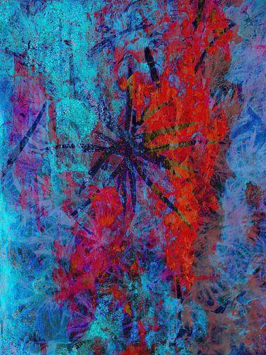Modern, Abstract kunstwerk - Life With No More Yesterdays van