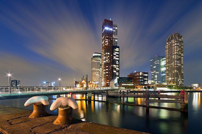 moving clouds @ Montevideo te Rotterdam van Anton de Zeeuw