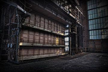 Verlassene Kraftwerk 11 von Eus Driessen