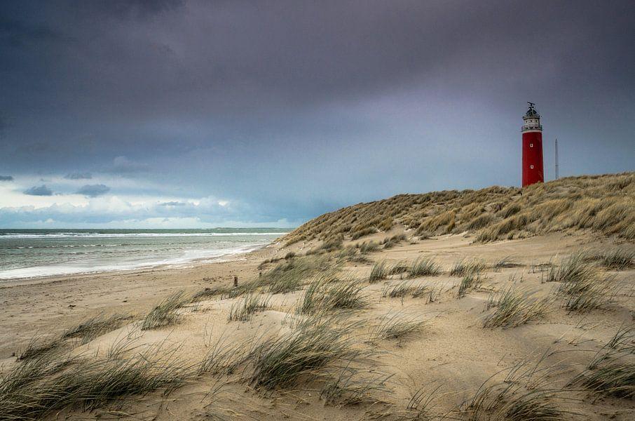 De vuurtoren van Eierland op Texel van Ricardo Bouman   Fotografie