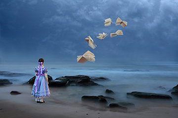 Das Mädchen am Strand von Ursula Di Chito
