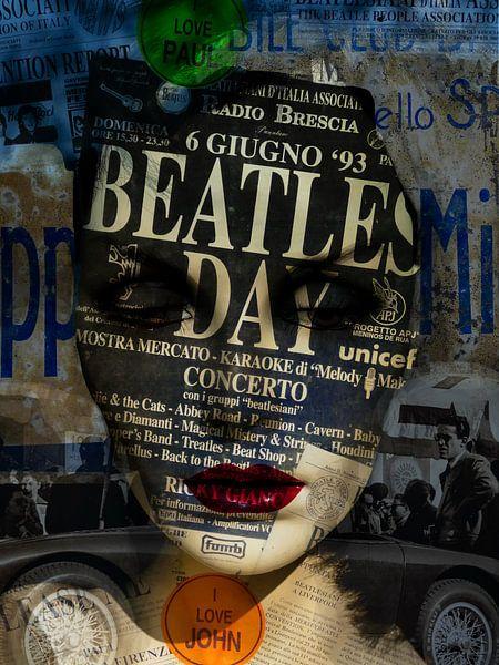 Woman, The Beatles and Mille Miglia van Gabi Hampe