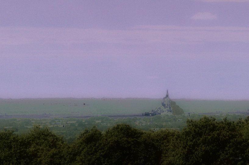 Mont Saint Michel van Erik Reijnders