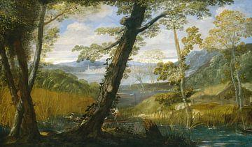 Annibale Carracci~Landschaft des Flusses