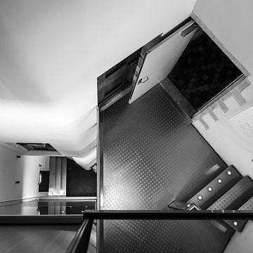 Stalen trappenhuis 3.