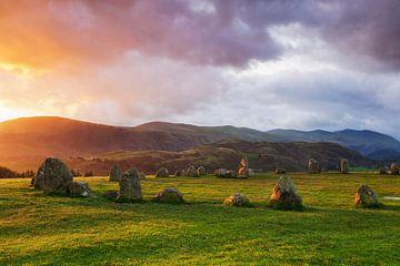 Castlerigg Stone Circle bei Sonnenaufgang von Markus Lange