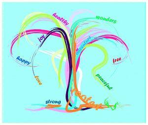 Happy Tree von