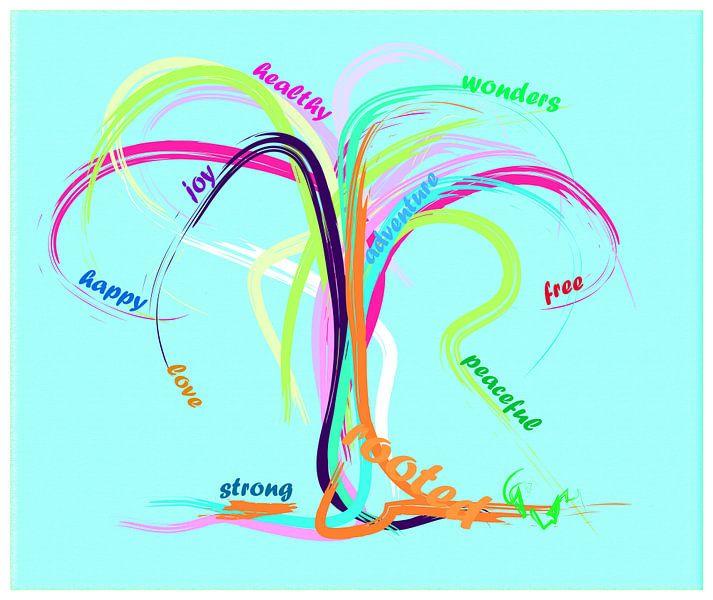 Happy Tree van Go van Kampen