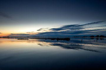 Sonnenaufgang Leekstermeer von Jacques Jullens