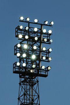 Beleuchtungsmast des Stadions De Eelaarshorst von Stadionautist