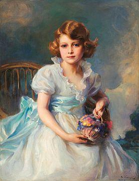 Königin Elisabeth II., als Prinzessin Elisabeth von York, Philip Alexius de László