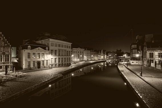 Graslei in Ghent van Marcel Derweduwen