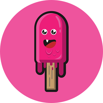 Eis Lustig Süss Comic van Felix Brönnimann