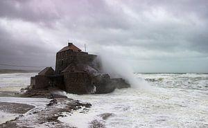 Stormy fort van Chris Vermeulen