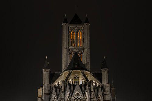 De Sint-Niklaaskerk in Gent van MS Fotografie