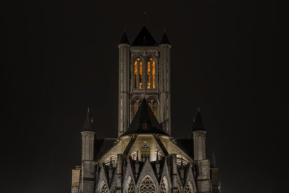 De Sint-Niklaaskerk in Gent